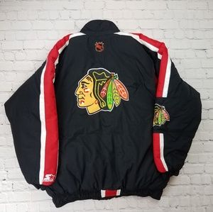Vintage 1990's NHL Chicago Blackhawks Jacket